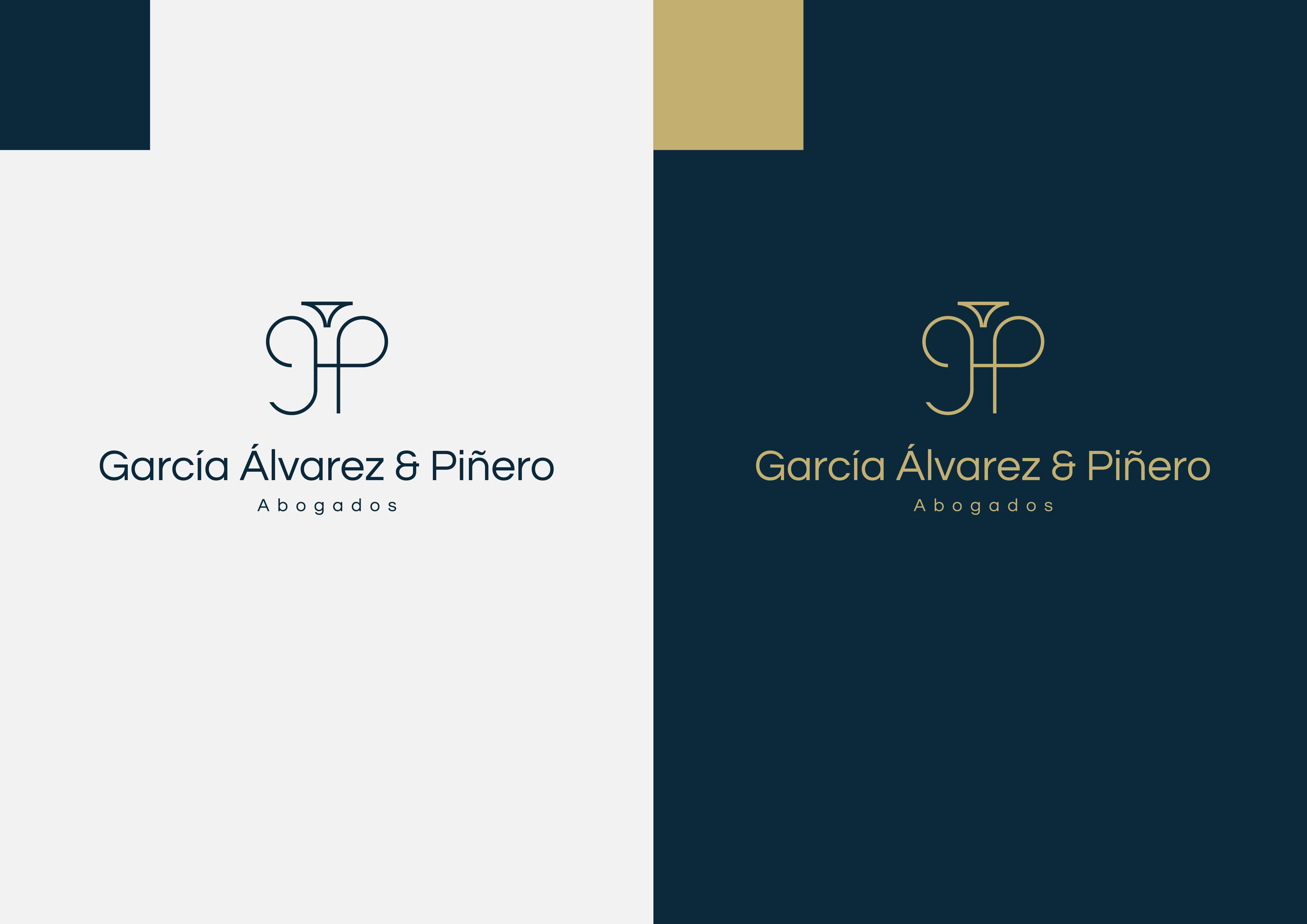 Imagen Corporativa Para  García Álvarez Y Piñero Abogados