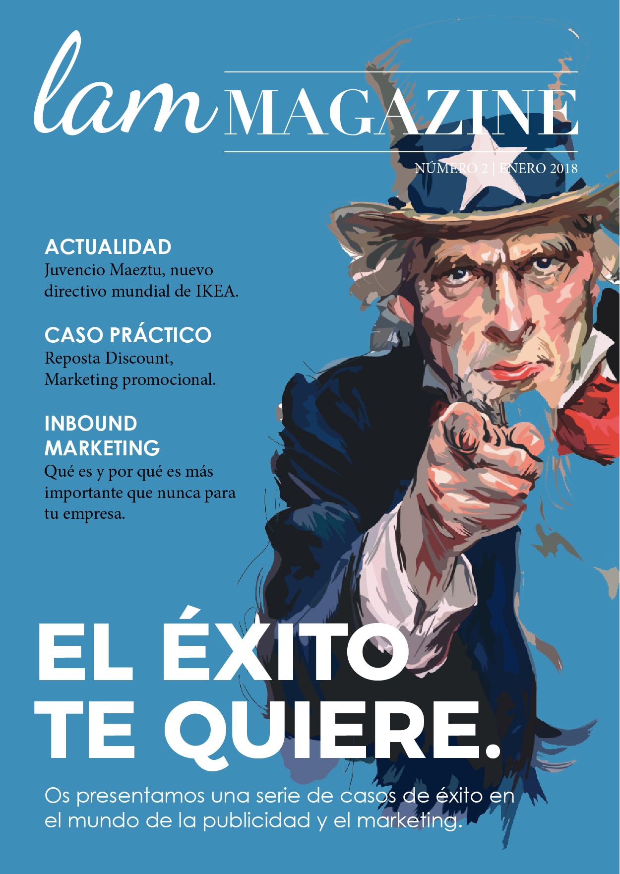 Segunda Entrega De LAM Magazine. Edición Especial Sobre Casos De éxito.