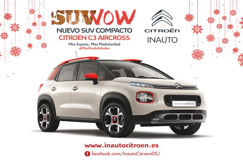 Campaña Navideña SUV WOW De Citroën