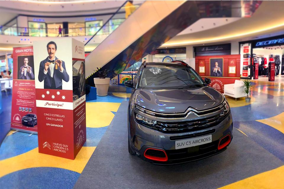 Una Experiencia Basada En El Confort En Area Sur: El Nuevo SUV Citroën C5 Aircross.
