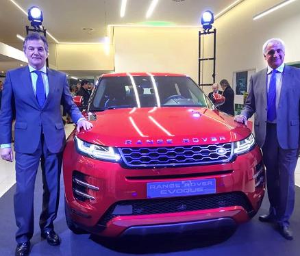 Presentación Del Nuevo Range Rover Evoque-LAM Publicidad.